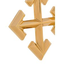 Off-White c/o Virgil Abloh Metallic Arrows Earrings