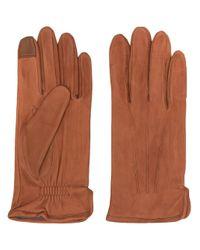 Gants texturés Filippa K pour homme en coloris Brown