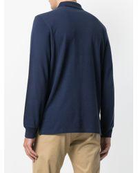 メンズ Polo Ralph Lauren ロング ポロシャツ Blue