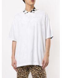 Facetasm ストライプ Tシャツ White