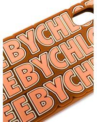 Coque d'iPhone X à logo See By Chloé en coloris Multicolor