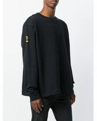 PUMA Black Logo Sweatshirt for men