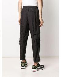 メンズ PUMA テーパード パンツ Black