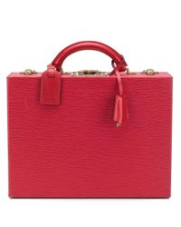 Louis Vuitton 1990 プレオウンド ジュエリーケース Red