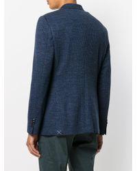 Etro Blue Classic Blazer for men
