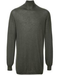 メンズ Rick Owens カシミア セーター Multicolor