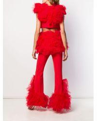 Loulou オーバーサイズ ジャケット Red