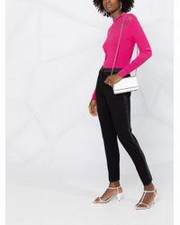 Karl Lagerfeld ロゴ ニットトップ Pink