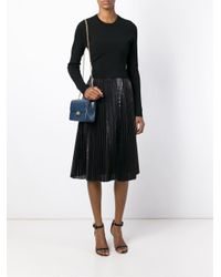 Designinverso - Blue Chain Shoulder Bag - Lyst
