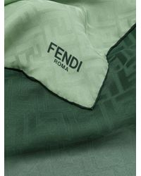 Fendi Ff ロゴスカーフ Green