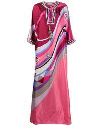 Emilio Pucci Occhi ドレス Pink