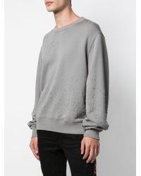 メンズ Amiri Shotgun スウェットシャツ Gray
