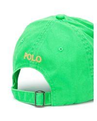 Кепка С Вышитым Логотипом Polo Ralph Lauren для него, цвет: Green