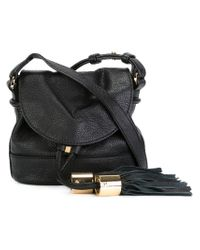 See By Chloé Black Mini Vicki Bag