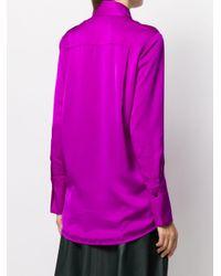 Victoria, Victoria Beckham ワイドカラーシャツ Multicolor
