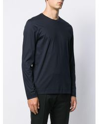 メンズ Z Zegna ロングtシャツ Blue