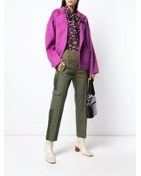 Essentiel Antwerp Taria コート Purple