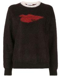 Bella Freud Hot Lips テクスチャード セーター Black