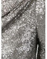 Talbot Runhof Metallic Konica Dress