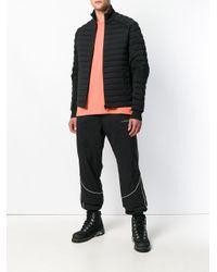 Piumino con zip di Martine Rose in Black da Uomo