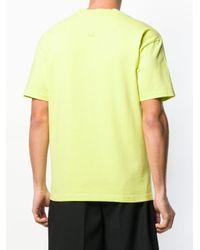 KENZO T-Shirt mit Logo-Stickerei in Green für Herren