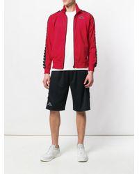 Kappa Red Side Stripe Sport Jacket for men
