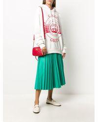 Худи Оверсайз С Логотипом Gucci, цвет: Multicolor
