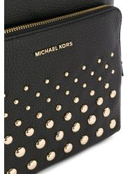MICHAEL Michael Kors Black Rhea Backpack