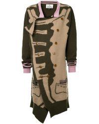 Vivienne Westwood Green Military Cardigan
