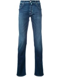 Jacob Cohen - Blue Slim Fit Jeans for Men - Lyst