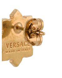 Versace メデューサ ピアス Metallic