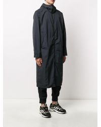 メンズ Adidas フーデッド レインコート Black
