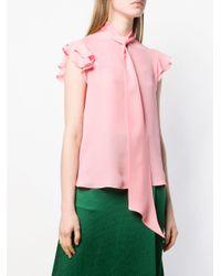 Etro ノースリーブ ブラウス Pink
