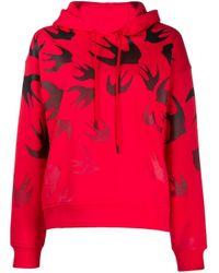 Sudadera Code Bird McQ Alexander McQueen de color Red