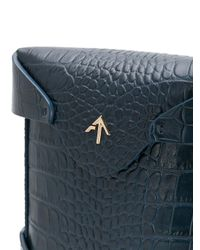 MANU Atelier - Blue Micro Pristine Cross Body Bag - Lyst