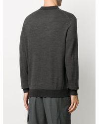 メンズ Polo Ralph Lauren ジップアップ セーター Gray