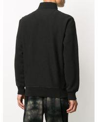メンズ Stussy ロゴ スウェットシャツ Black