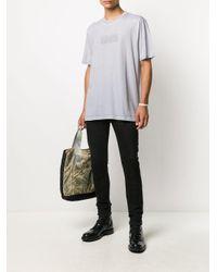 メンズ AllSaints ロゴ Tシャツ Gray