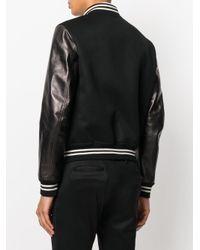 Alexander McQueen - Black Winged Lion Bomber Jacket for Men - Lyst