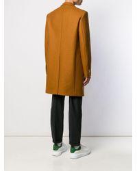 メンズ Versace シングルコート Brown