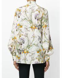 Блузка С Бантом 'wild Iris' Alexander McQueen, цвет: Multicolor