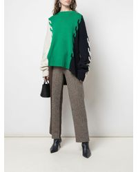 Monse カラーブロック セーター Green