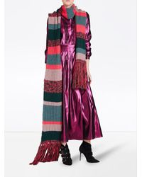 Burberry - Multicolor Striped Scarf - Lyst