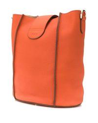 メンズ Tod's ロゴ バケットバッグ Orange