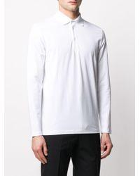 メンズ Filippa K Luke ロングスリーブ ポロシャツ White