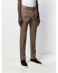 PT01 Schmale Hose in Brown für Herren