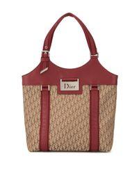 Dior プレオウンドトロッター ハンドバッグ Brown