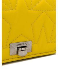 Pochette Helia Jimmy Choo en coloris Yellow