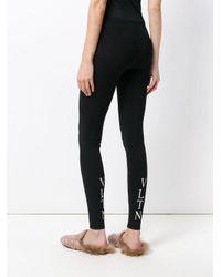 Valentino Black Vltn leggings