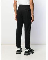 メンズ Just Cavalli トラックパンツ Black